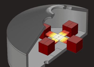 Simulation du rayonnement thermique