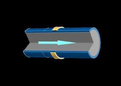Modelling ultrasound flowmeter